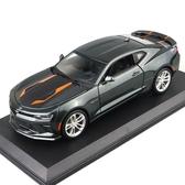汽車模型2017雪佛蘭科邁羅大黃蜂1:18仿真合金汽車模型擺件跑車模型