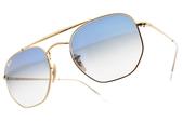 RayBan 太陽眼鏡 RB3648 0013F (金-漸層藍鏡片) 漸層海洋款 # 金橘眼鏡