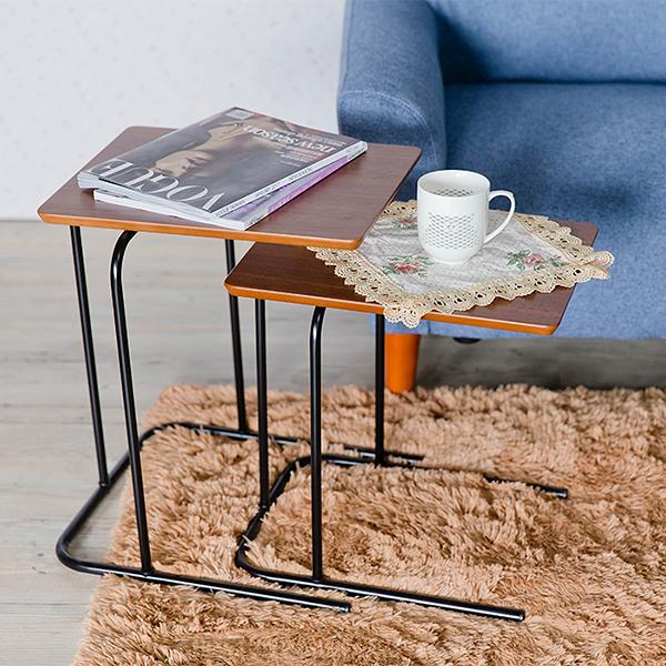 邊桌/日式邊桌/茶几桌/和室桌/胡桃木色 MIT台灣製【A15035-1】Tasteful 特斯屋