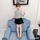 女童雪紡套裝 2020新款韓版時尚網紅洋氣女孩童裝時髦兩件式夏裝 TR450『寶貝兒童裝』