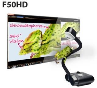 新竹【超人3C】AVer 圓展 F50HD 鵝頸式實物攝影機 HDMI 高畫質影像傳輸 創新的畫面註記功能 A+Suit