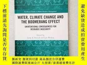 二手書博民逛書店WATER罕見CLIMATE CHANGE AND THE BO