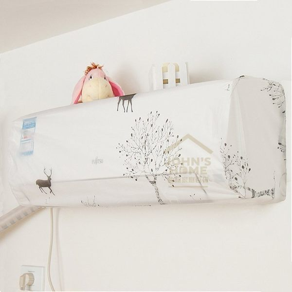 美麗花漾冷氣防塵罩 空調罩 冷氣罩 花色隨機出貨【SA160】