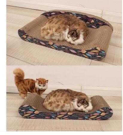 環保型瓦楞紙沙發貓抓板 磨爪貓窩 貓抓板一體設計 BS10714『愛尚生活館』