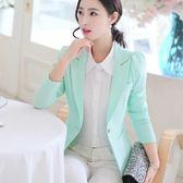 西裝外套春夏季新款韓版修身優雅休閒西服 JD5733【3C環球數位館】
