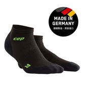 CEP 超輕量-運動壓縮踝襪-黑綠 ( 男/女 )WP4ALD/WP5ALD