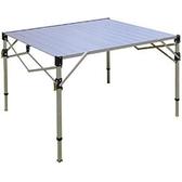 鋁合金蛋捲桌 TAB-980H(三段高度可調)MIT台灣製造 摺收桌 摺疊桌 折合桌 鋁合金輕巧桌