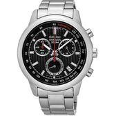 SEIKO CS線條時尚計時腕錶 /8T68-00A0D/SSB205P1