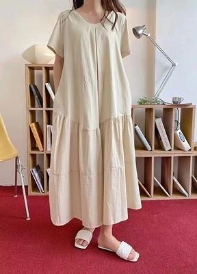 日系洋裝~長版長裙~韓版連身裙女#2691N515愛尚布衣