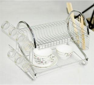 碗架瀝水架/雙層