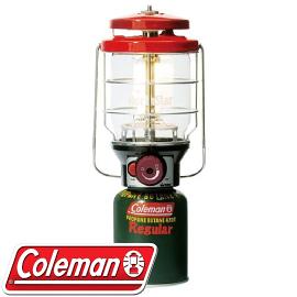 【Coleman 美國 2500北極星瓦斯燈 紅 】 CM-5521JM000/電子點火器/營燈/野營/釣魚燈