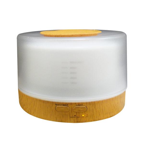 【 HU-18C】〈贈12瓶精油〉水氧機 加濕器 香薰機〈木紋-附遙控器〉空氣淨化器 清淨機 無印良品