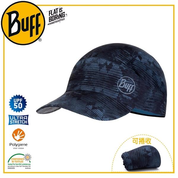 【BUFF 西班牙 可捲收健行帽 猶太藍石】119520/吸濕排汗/抑臭/慢跑帽/運動帽/防曬