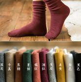 襪子女純棉中筒襪長款襪堆堆襪薄款女秋冬韓國秋季百搭
