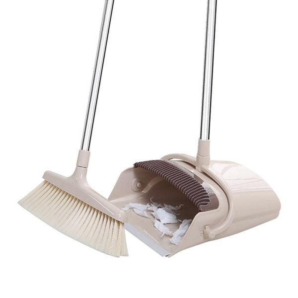 ★7-11限今日299免運★掃把畚箕套裝組 掃地神器 家務清潔 家用掃把 打掃用具【F0304-F】