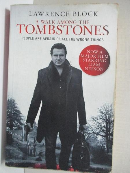 【書寶二手書T6/原文小說_H52】A Walk Among the Tombstones_Lawrence Block
