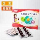 (買三送一,混搭請留言)日比野高單位卵磷脂+PS-60顆入(軟膠囊)【六甲媽咪】