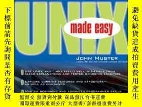 二手書博民逛書店Unix罕見Made EasyY256260 John Muster Mcgraw-hill Osborne