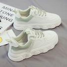 小白鞋女2021春秋新款百搭2020夏季鞋子運動白鞋爆款學生老爹板鞋 pinkq時尚女裝