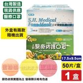 上好 醫療防護口罩(蜜糖橘/芭娜娜黃/蜜桃粉) 50入/盒 (台灣製 CNS14774 成人口罩) 專品藥局