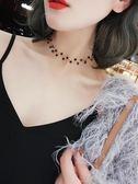 韓版短款簡約網紅脖頸項圈項鍊女學生森系頸鍊鎖骨鍊脖子飾品頸帶【快速出貨限時八折】
