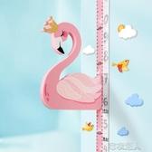 身高贴 兒童身高墻貼3d立體量身高貼尺寶寶可移除卡通精準測量儀小孩家用 布衣潮人YJT