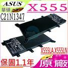 ASUS 電池(原廠)-華碩 C21N1347,X554,X554L,X555,X555LA,X555LN,X555LD,XX283H,C2INI347,X555LA-SI30202G