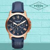 FOSSIL 手錶 專賣店 FS4835 男錶 石英錶 皮革錶帶 防水 強化玻璃鏡面  全新品 保固一年 開發票