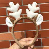 發箍麋鹿卡通頭飾 圣誕節小鹿角 兔耳朵動物發卡
