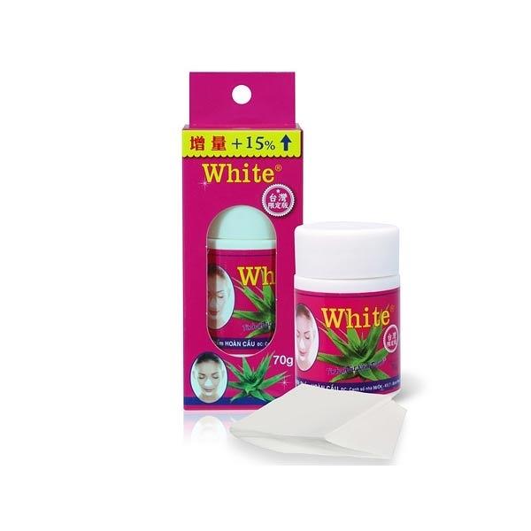 泰國White蘆薈膠毛孔粉刺凝膠面膜(70g)【小三美日】增量限定版