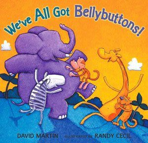 【麥克書店】WE'VE ALL GOT BELLYBUTTONS! /英文繪本+CD《活動. 動物》