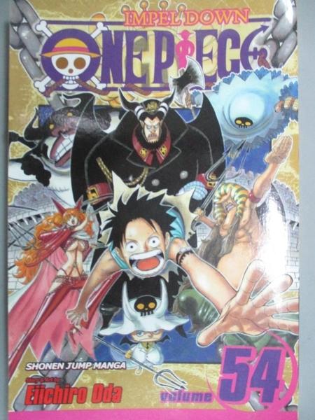 【書寶二手書T7/漫畫書_JLC】One Piece 54: Unstoppable_Oda, Eiichiro/ Od