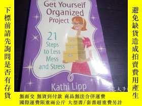 二手書博民逛書店the罕見Get Yourself Organized project 2012年 大32開平裝 原版英法德意等外
