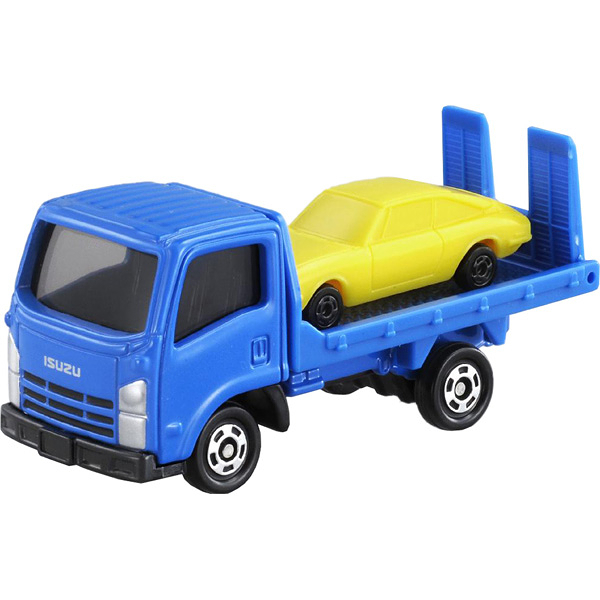 TOMICA 多美小汽車 NO﹒60 ISUZU ELF VEHICLE TRANSPORTER