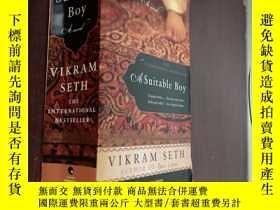 二手書博民逛書店A罕見Suitable Boy如意郎君Y12880 Vikram Seth HARPERPERENNIAL