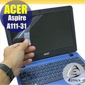 【Ezstick】ACER A111-31 適用 靜電式筆電LCD液晶螢幕貼 (可選鏡面或霧面)
