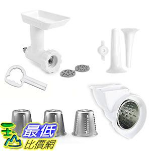 [美國直購] KitchenAid 攪拌機 附件 KGSSA Stand Mixer Attachment Pack 2 with Food Grinder, Rotor Slicer Shredde