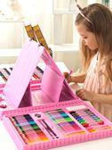 兒童水彩筆套裝幼兒園畫畫小學生用繪畫彩色筆手繪寶寶可水洗72色無毒 七色堇