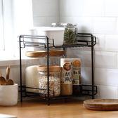 衛生間落地置物架浴室洗漱台多層收納架子廚房桌面儲物整理架宿舍  igo 居家物語