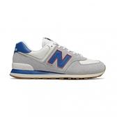New Balance 男女款灰藍色經典復刻鞋-NO.ML574ERH