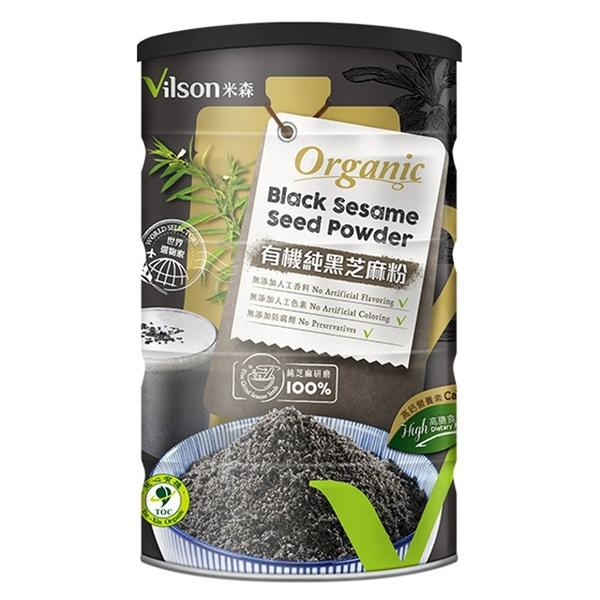 米森~有機純黑芝麻粉350公克/罐