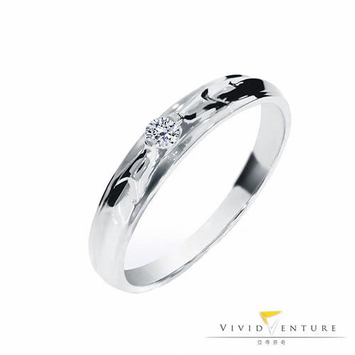 鑽石戒指 5分八心八箭 男戒 亞帝芬奇 初愛
