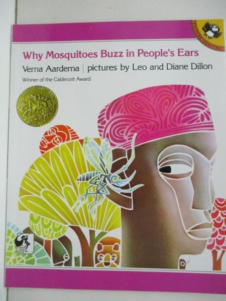 【書寶二手書T7/原文小說_D29】Why Mosquitoes Buzz in Peoples Ears_Aardema, Verna