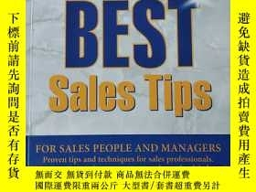 二手書博民逛書店THE罕見WORLD`S BEST SALES TIPSY24018 看图 看图 出版2000