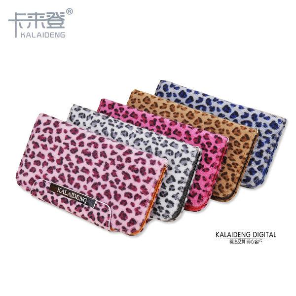 ◎KALAIDENG Apple iPhone 4S/iPhone4 韓式 豹紋 高質感多功能側翻皮套/站立式/支架式/側開皮套
