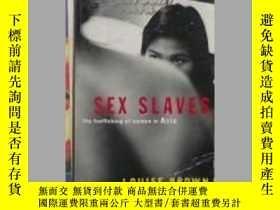二手書博民逛書店Sex罕見英文原版 Slaves:The Trafficking