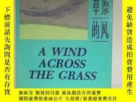 二手書博民逛書店A罕見Wind across the grass: Modern