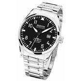 epos  飛行員暢銷款機械腕錶-3401.132.20.35.30黑43mm