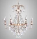 美術燈 客廳餐廳燈歐式臥室個性美式創意鍍...