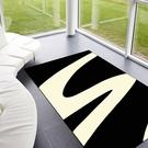 范登伯格-艾嘉麗 新元素進口地毯-曲黑160x230cm